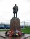 Памятник К.С.Заслонову на Привокзальной площади. Станция Орша-Центральная